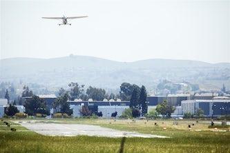 Reid-Hillview Airport in East San Jose. John Brecher / for NBC News