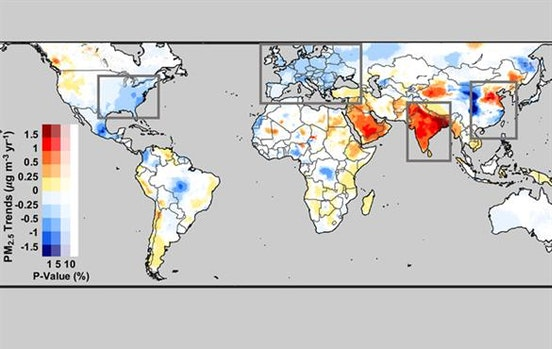 Global pollution estimates reveal surprises, opportunity