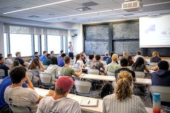 Undergraduate-level class in mechanical engineering (2019)