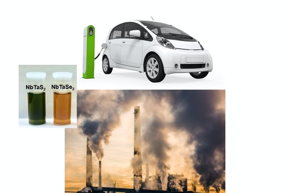 New alloys developed by a McKelvey Engineering and UIC team could be used in electric-car batteries and to reduce carbon dioxide (CO2).