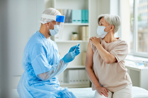 Jai Rudra and Meredith Jackrel will test amyloid-like peptide nanofibers as materials to develop new vaccines that do not require adjuvants. (Photo credit: iStock photo)