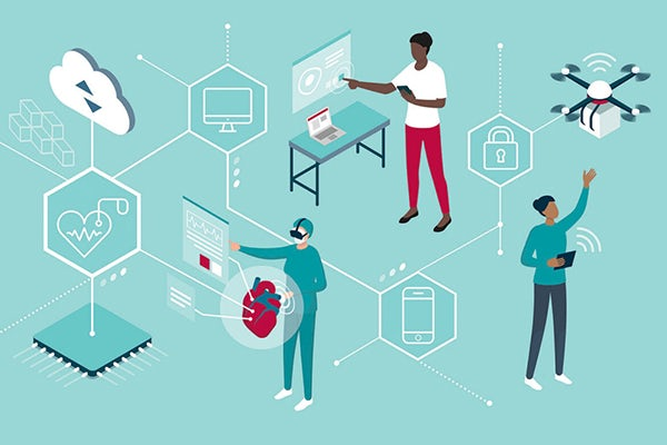 The cyber world and physical world are meeting in new and innovative ways. Ning Zhang is a researcher in the McKelvey School of Engineering who is making sure those new technologies don't open us up to hackers. (Shutterstock)